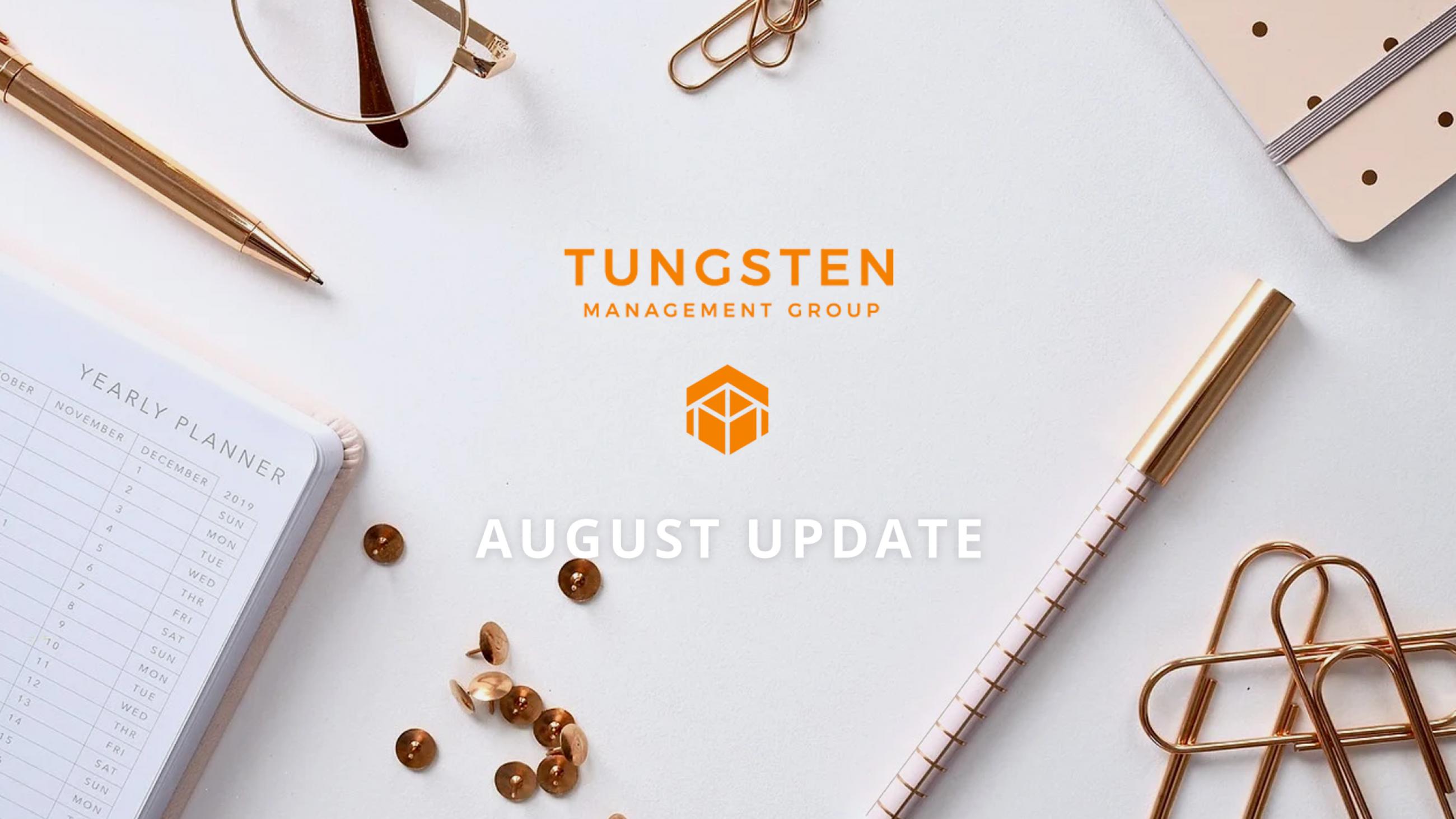 Tungsten Management Group Update Part Twenty Three