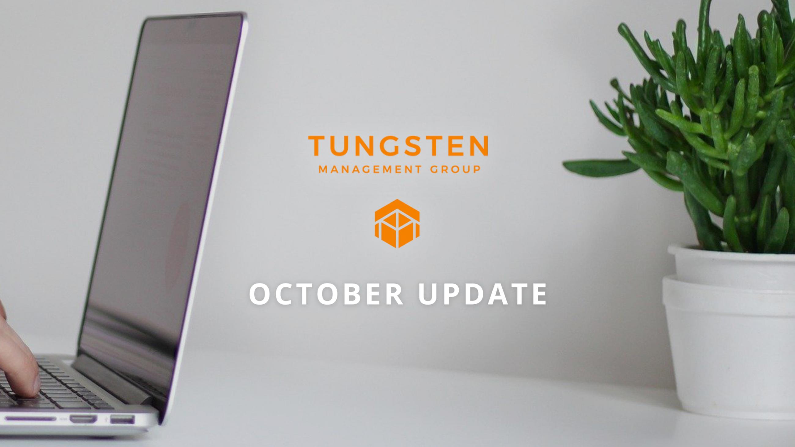Tungsten Management Group Update Part Twenty Four